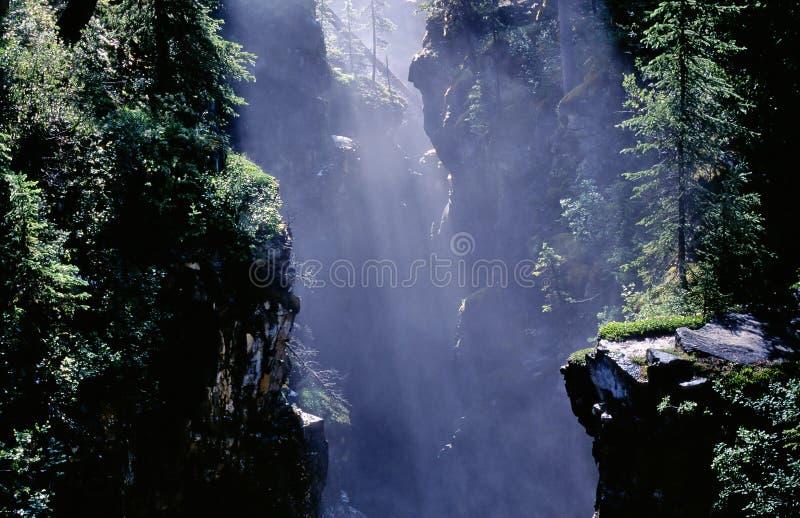Gorge de montagne image libre de droits