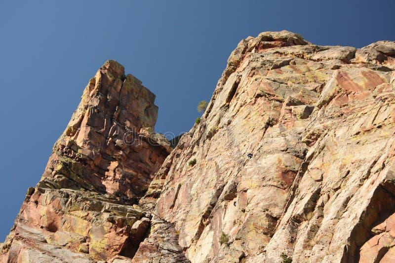 Gorge de montagne rocheuse images libres de droits