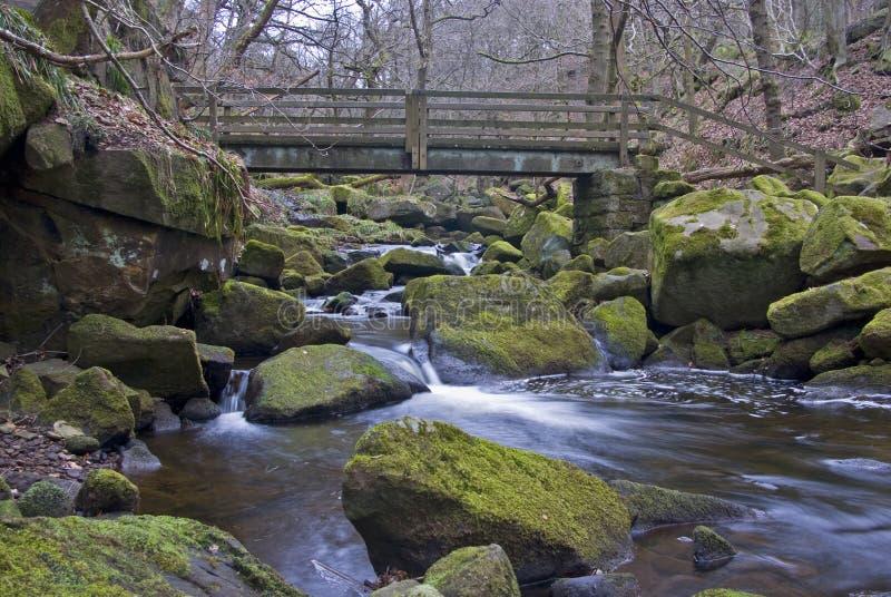 Gorge de Padley photos stock