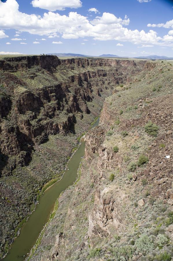 Gorge de Rio Grande photo libre de droits