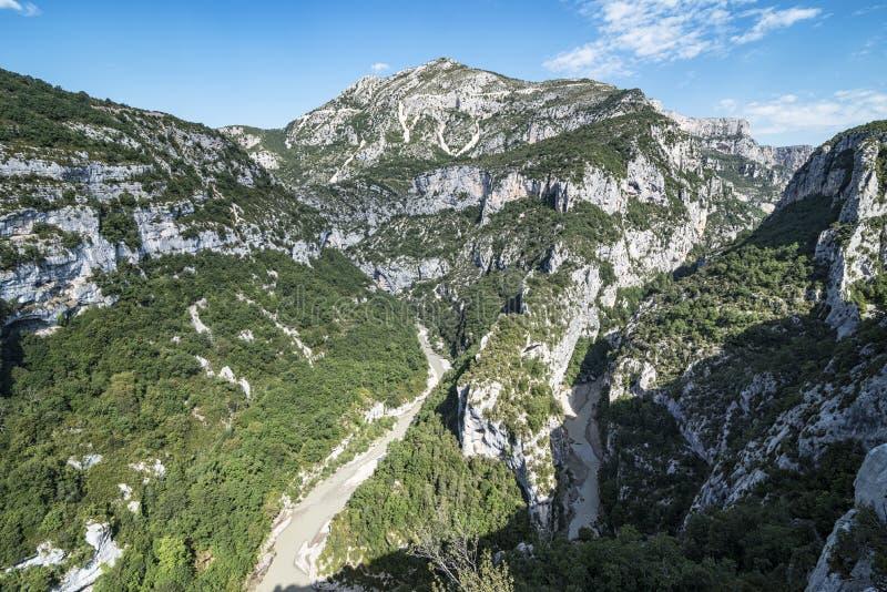 Download Gorge de Verdon image stock. Image du stationnement, croix - 76085207