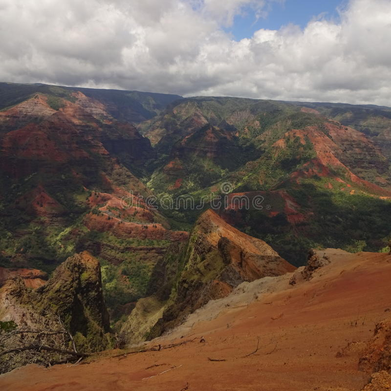 Gorge de Waimea photo stock
