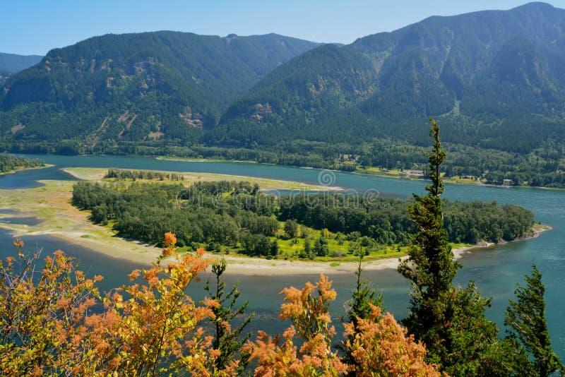 Gorge du fleuve Columbia image libre de droits