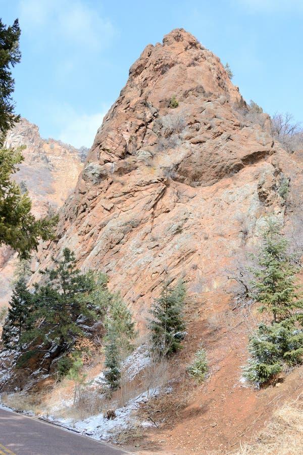 Gorge du nord de Cheyenne images stock