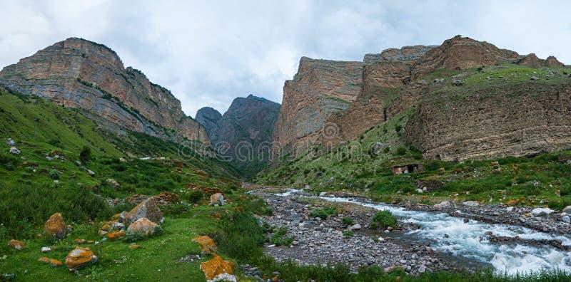 Gorge in the Eltyubyu village� stock photos