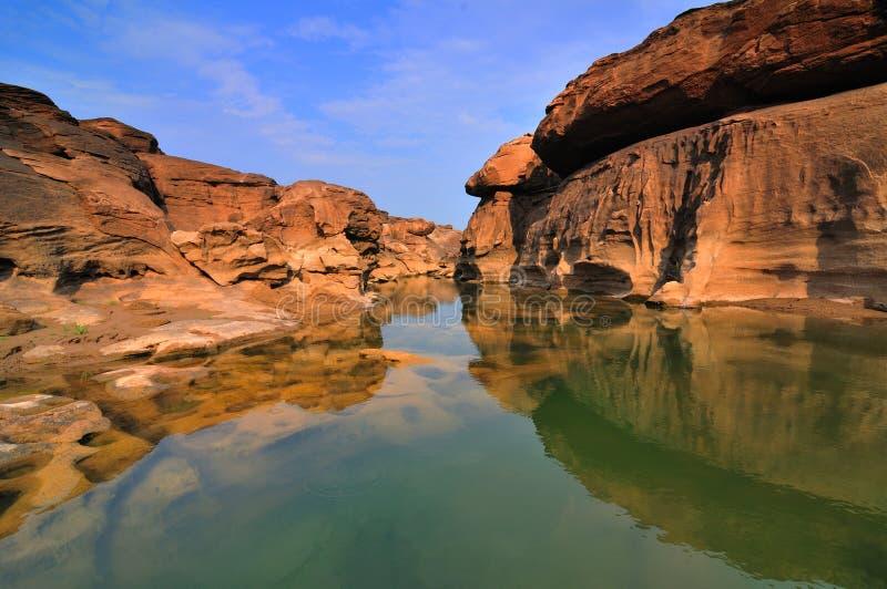 Gorge grande de Sam-Carter-Bok image libre de droits