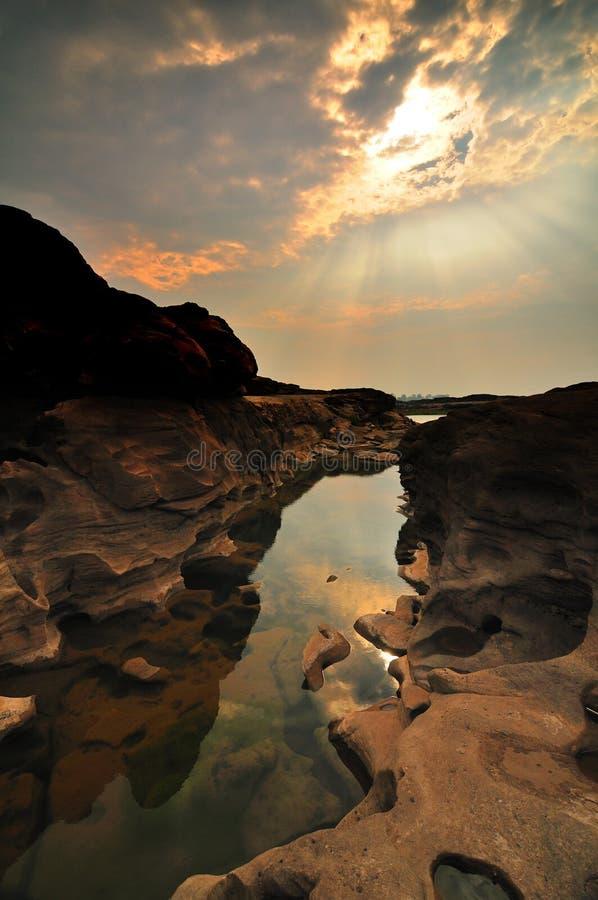 Gorge grande de Sam-Carter-Bok photo libre de droits