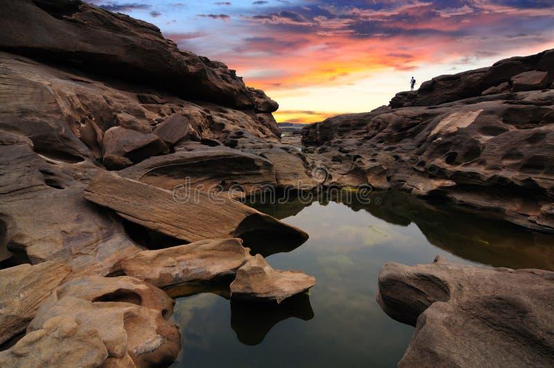 Gorge grande de Sam-Carter-Bok images libres de droits