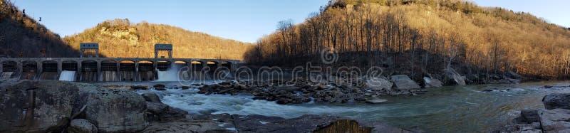 Gorge neuve de fleuve, I images stock