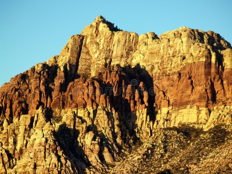 Gorge rouge de roche image stock