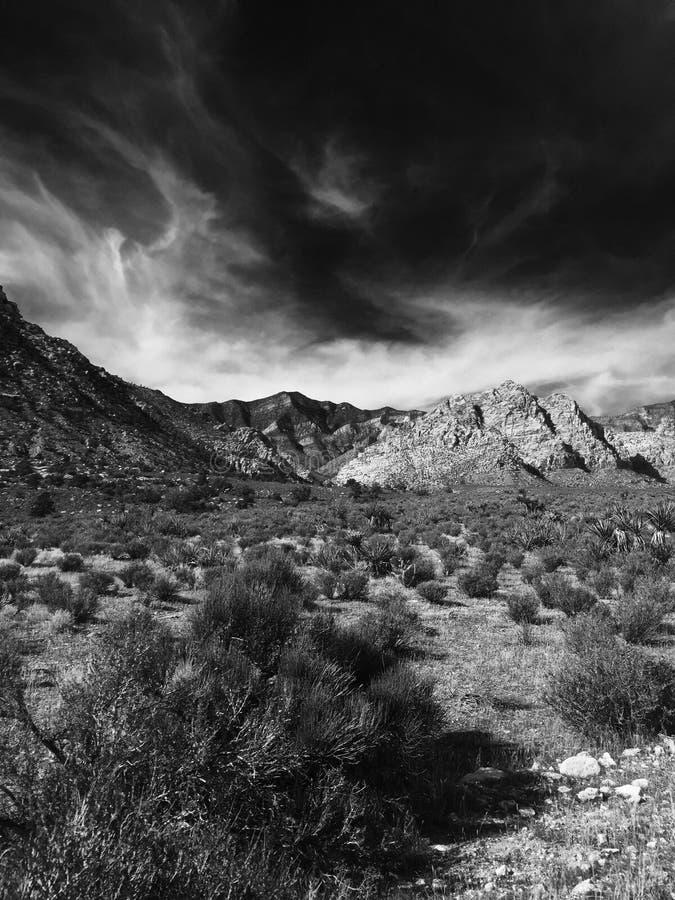 Gorge rouge de roche, Las Vegas, Nevada photos libres de droits