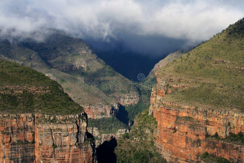 Gorge SA de fleuve de Blyde photo stock