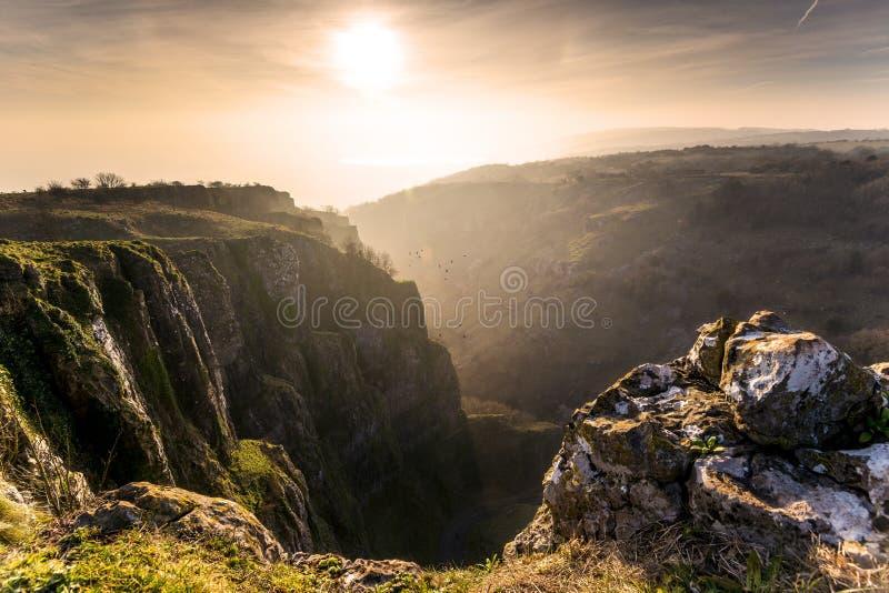 Gorge Somerset de cheddar photographie stock