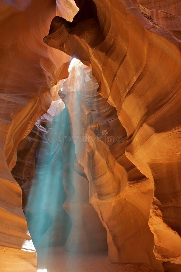 Gorge supérieure de fente d'antilope en Arizona. images stock