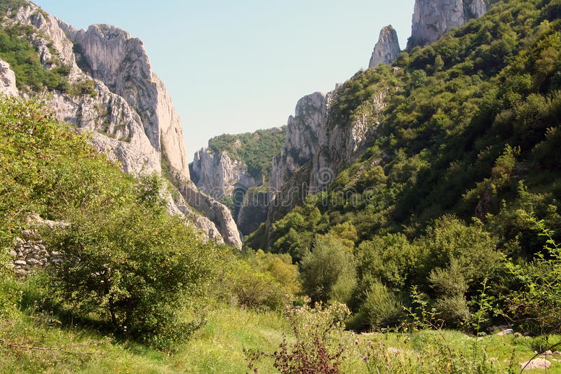 Gorge Turda стоковое изображение rf