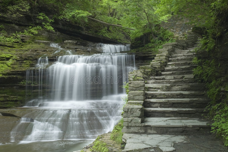 Download Gorge Waterfall Stock Photo - Image: 2629070