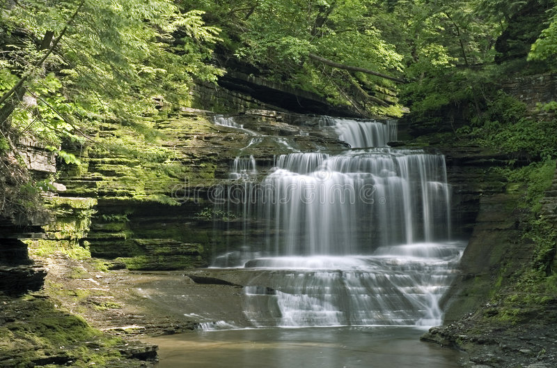 Gorge Waterfall stock photography