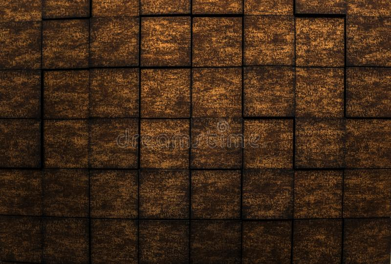 Amazing detailed closeup view of dark bronze color interior wall luxury background. Gorgeous amazing detailed closeup view of dark bronze color interior wall stock photos