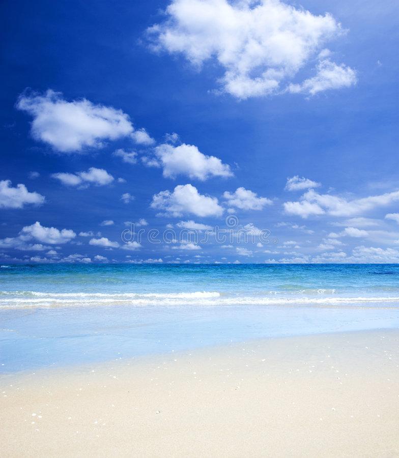 Gorgeous Beach stock photo