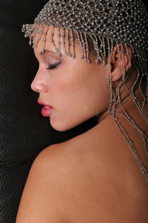 Gorgeous black woman stock images