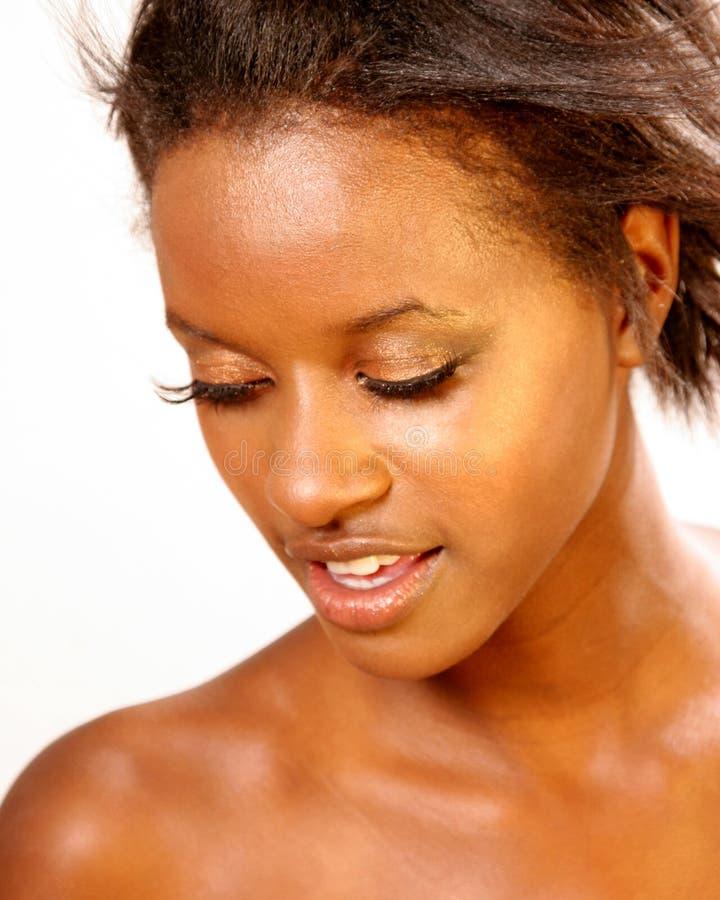 Gorgeous Black Woman royalty free stock photos