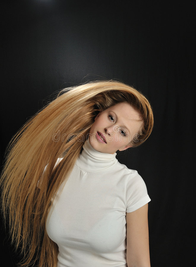 Download Gorgeous Blond Long Hair Teen Age Girl Stock Photo - Image: 7901368