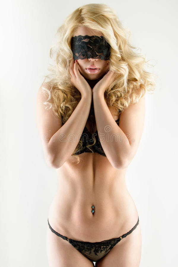 Gorgeous Blonde Stock Images