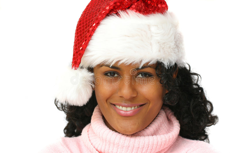 Gorgeous brazilian santa royalty free stock images