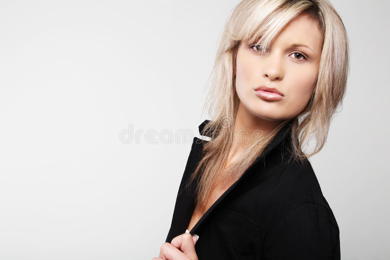 Gorgeous businesswoman. royalty free stock image