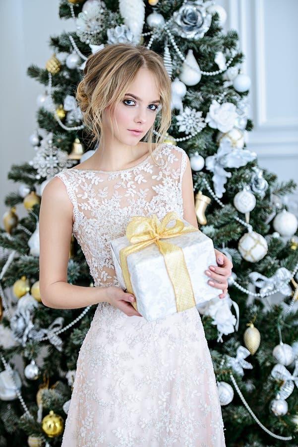 Gorgeous christmas celebration royalty free stock photos
