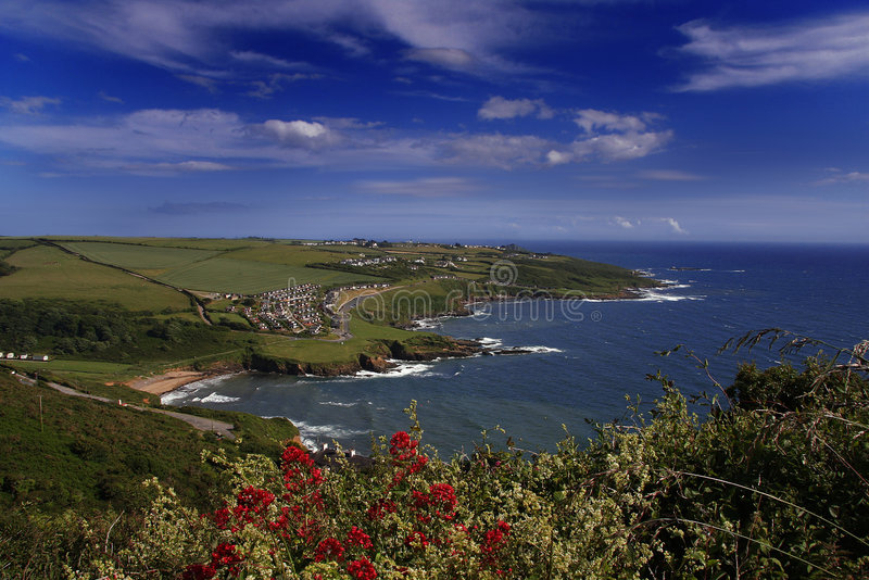Download Gorgeous Coast Of England In Summertime Stock Image - Image: 6224521