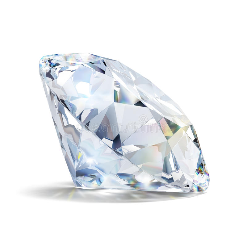 Gorgeous diamond stock illustration