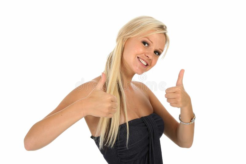 Download Gorgeous Lady With Positive Attitude Stock Image - Image: 20164881