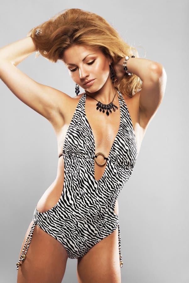 Gorgeous model royalty free stock photos