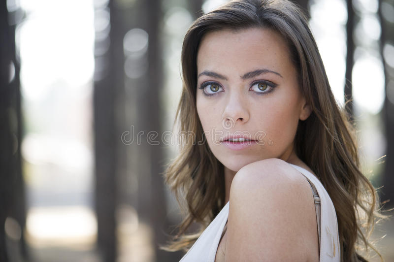 Download Gorgeous model stock photo. Image of woman, model, feminine - 32862400