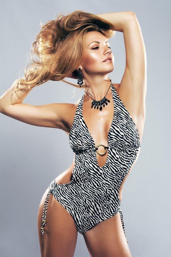 Gorgeous model royalty free stock image