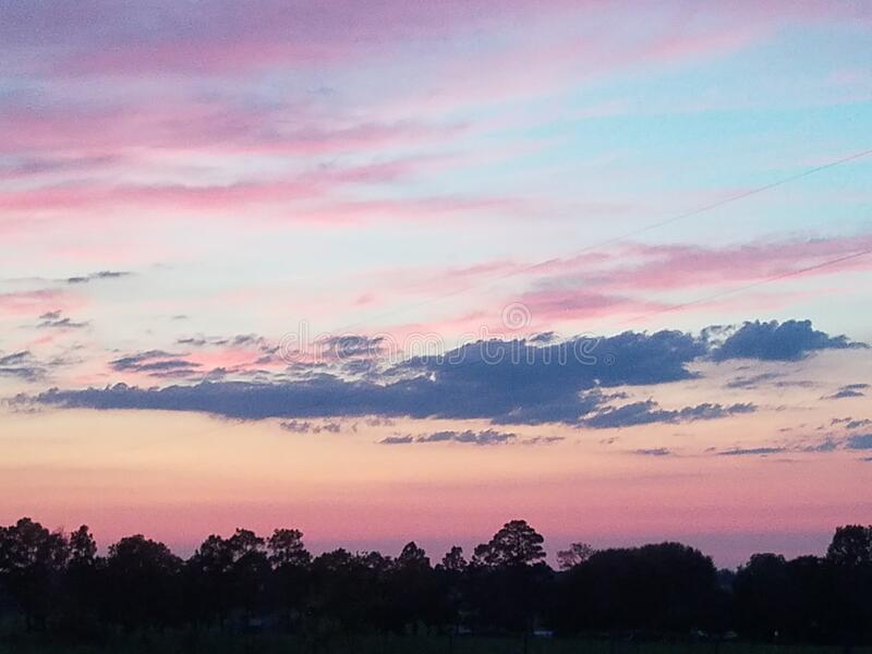 Gorgeous Morning Sky View immagine stock