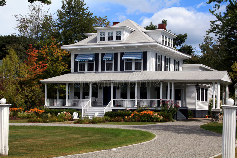Gorgeous New England Home royalty free stock image