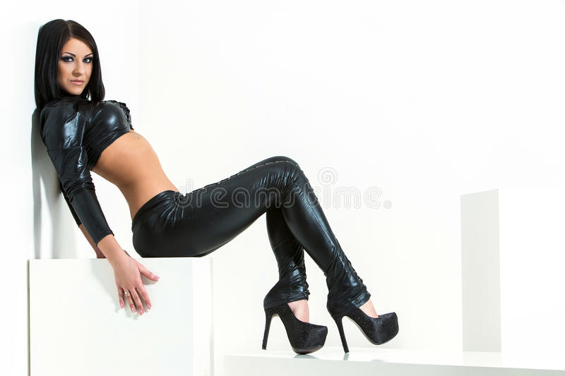 Download Gorgeous, woman stock photo. Image of latex, fashion - 41522856
