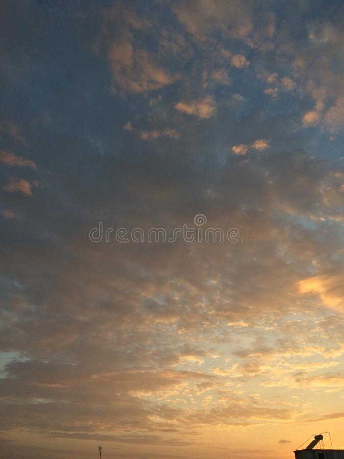 Gorgeous sky royalty free stock images