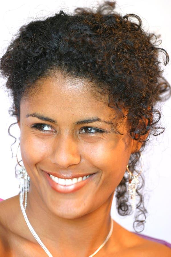 Gorgeous smile stock photo