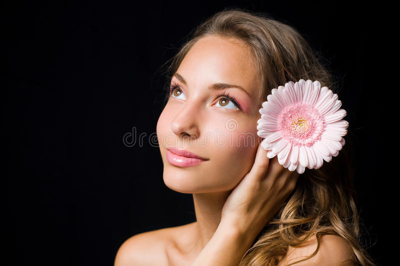 Download Gorgeous Smiling Young Brunette. Stock Photo - Image: 20737792