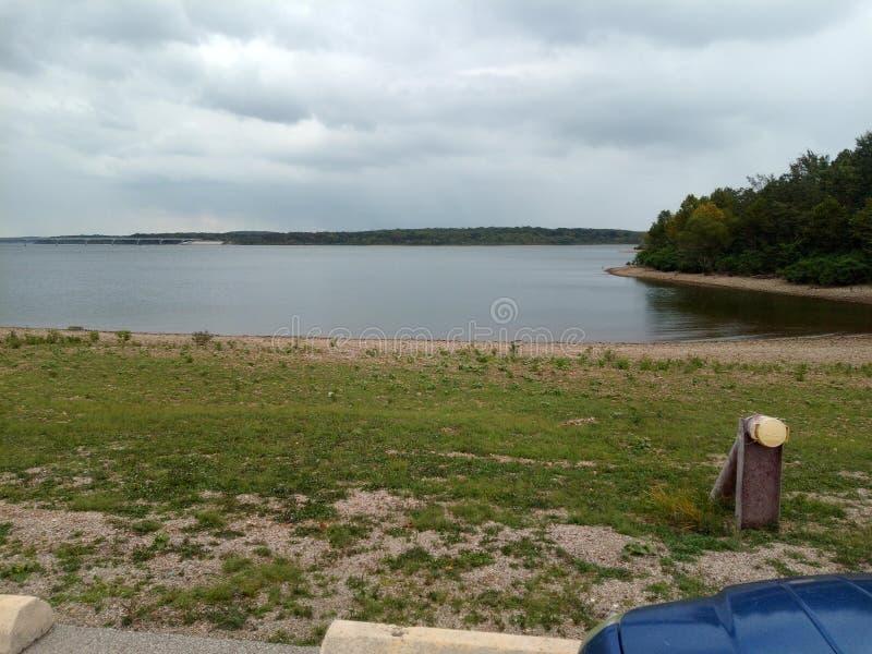 Gorgeous Stockton Lake a settembre immagine stock libera da diritti