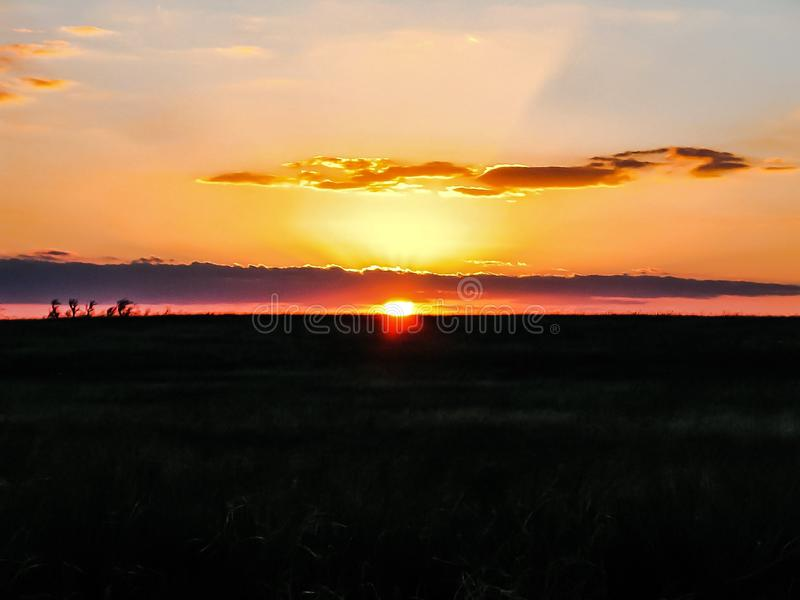 Gorgeous Sunset royalty free stock images