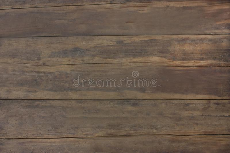Gorgeous texture old brown wood. Photo of a wooden surface stock image