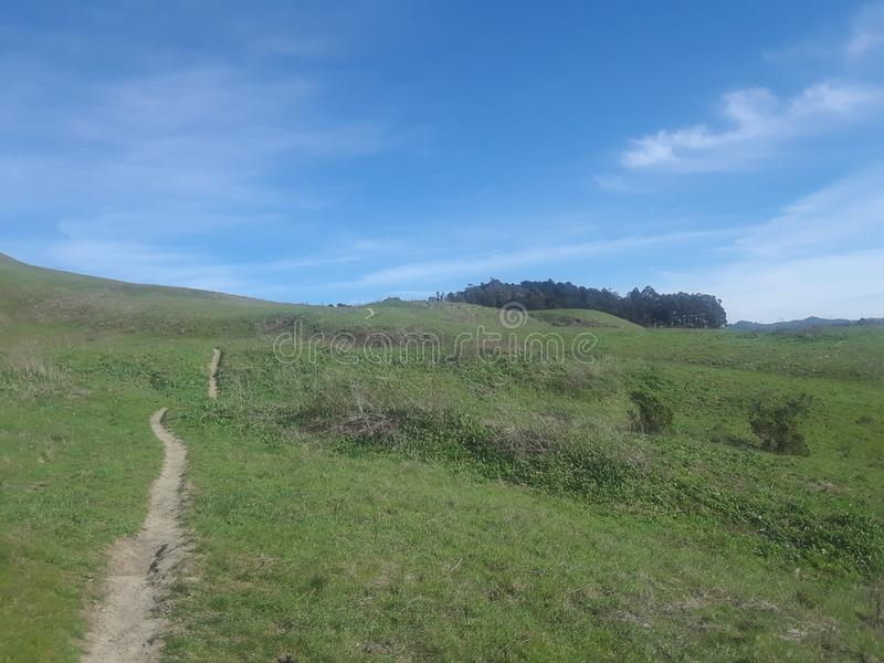 Wildcat Canyon Hiking Trail stock image