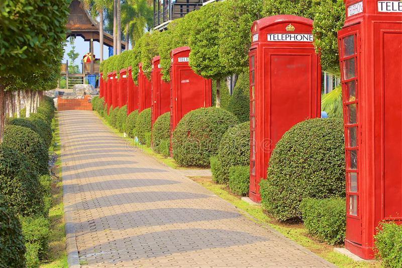 Nong nooch park in Pattaya, Thailand. Gorgeous view of Nong nooch garden in Pattaya stock image