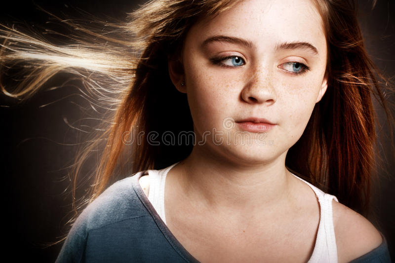 Gorgeous Young Girl Stock Image