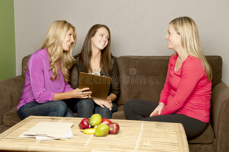 Gorgeous Young Girls royalty free stock photography