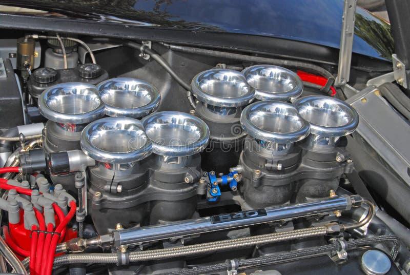 Gorges de carburateur photo libre de droits